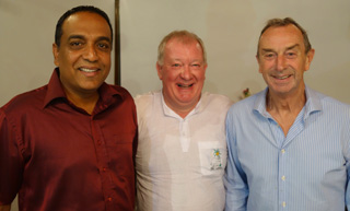 Cricket Cocktail party with Roshan Abeysinghe & David Lloyd