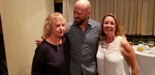 Photo of Matt Prior at a CricTours cocktail evening