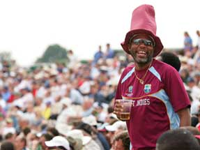 England cricket tour to West Indies