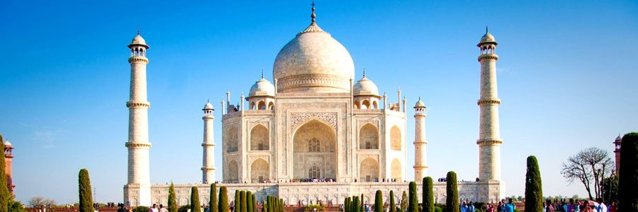 Cricket tours to see England in India - The Taj Mahal