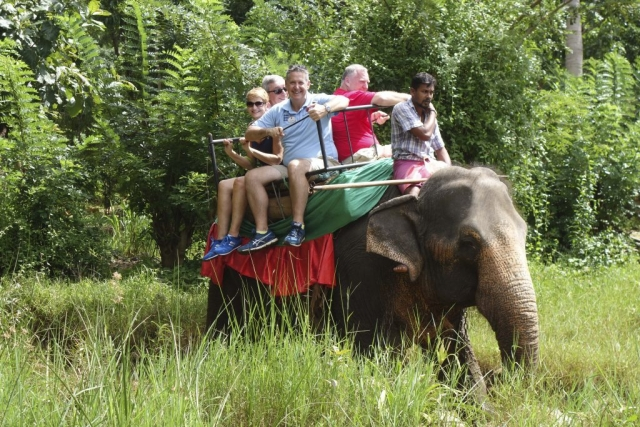 Elephant Safari, Sri Lanka
