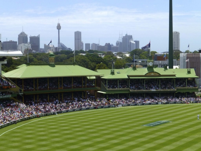 The Sydney Cricket Ground (SCG)