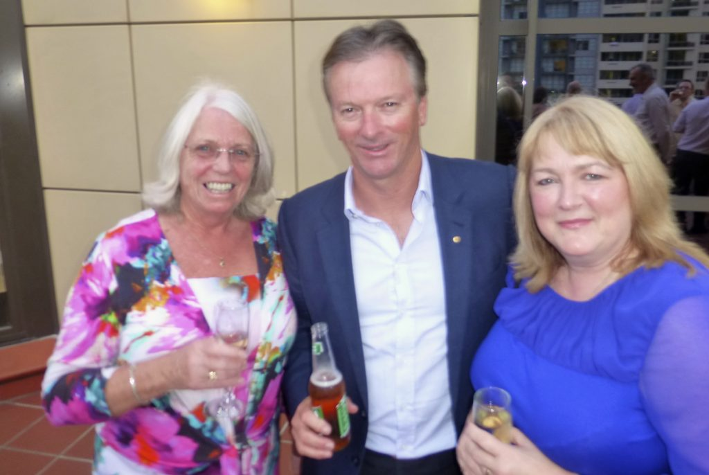 Clients with Steve Waugh