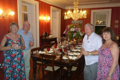 Farewell Dinner, Lancaster House, Barbados