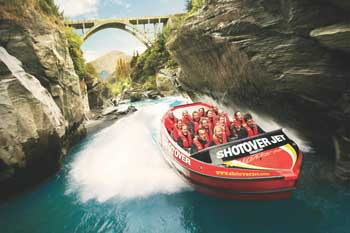 New Zealand tour - Shotover Jet