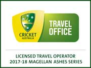 Cricket Australia Travel Logo