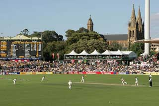 The Adelaide Oval Cricket Ground