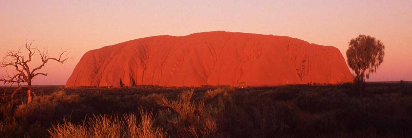 Ayers Rock / Uluru at sunset