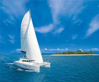 the Low Isles Sailaway catamaran