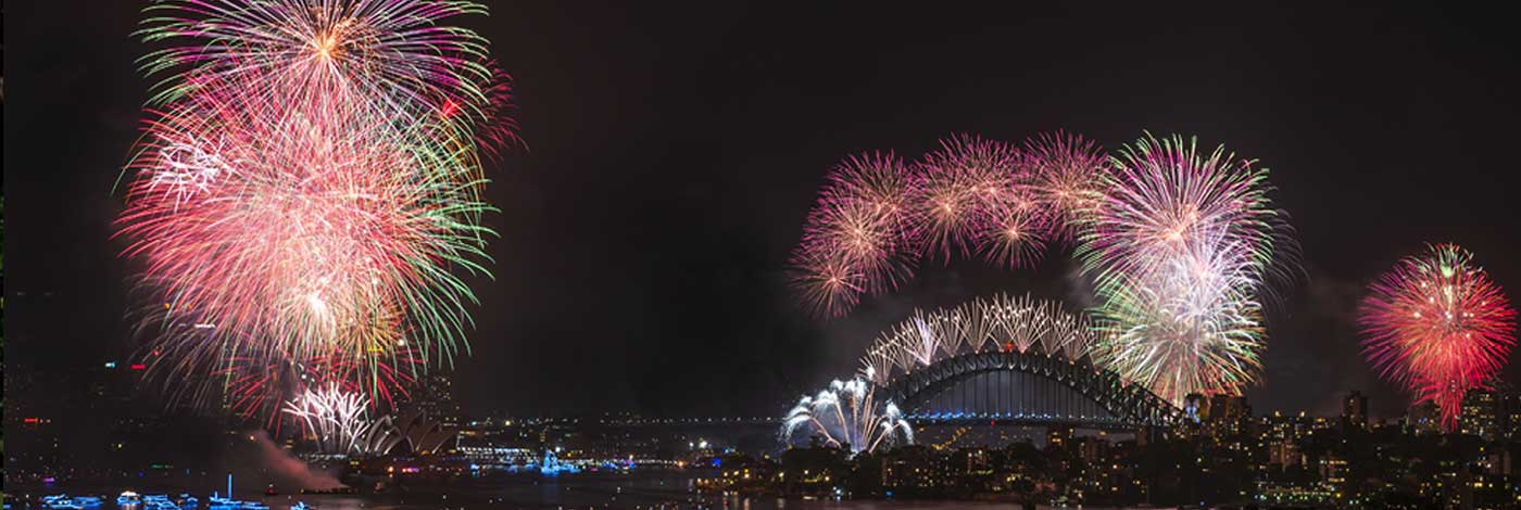 Sydney Fireworks on New Year's Eve