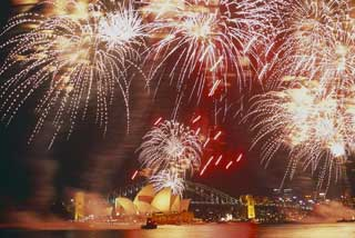 Sydney, New Year Fireworks