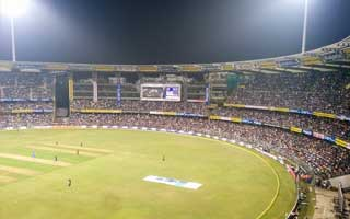 Wankhede Stadium in Mumbai