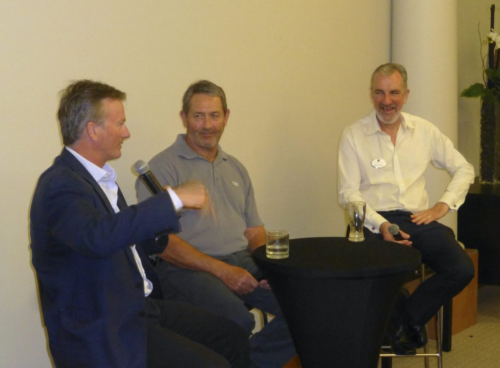 Celebrity evening with Steve Waugh & Graham Gooch