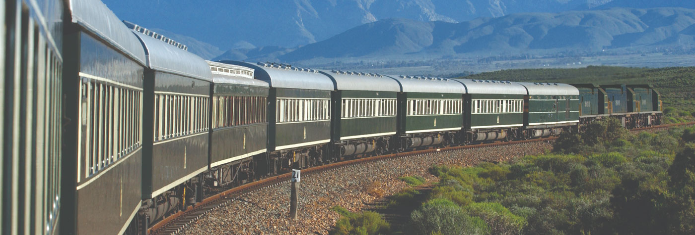 Rovos Rail coaches