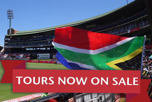 Cricket tours to South Africa now on sale