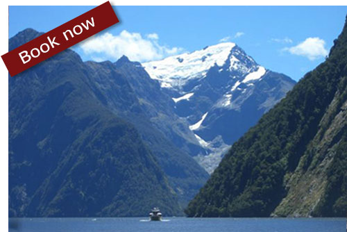 Photograph of New Zealand mountains