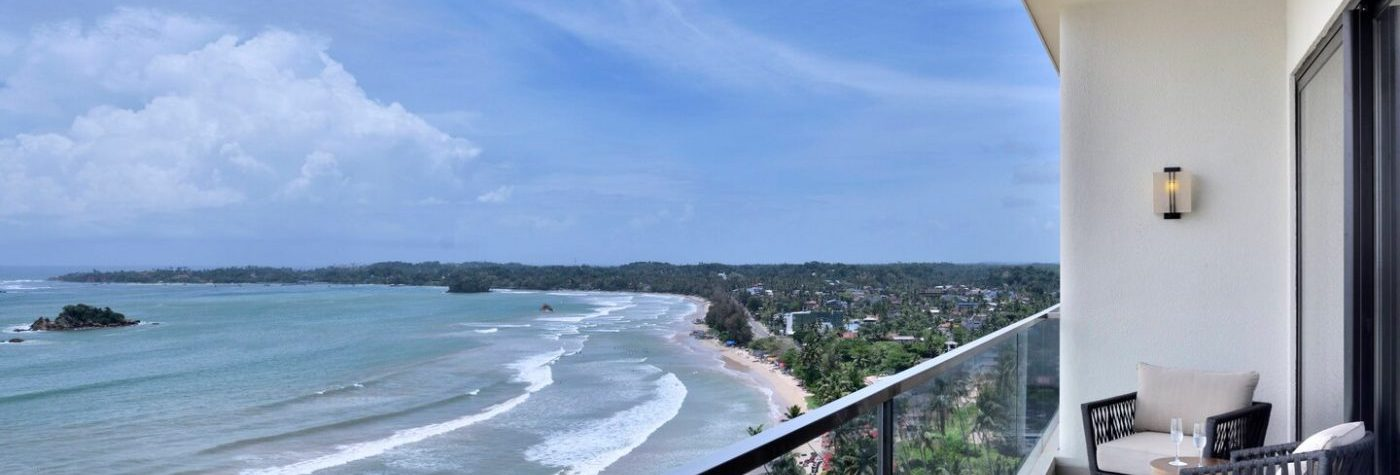 Weligama, Sri Lanka - balcony view