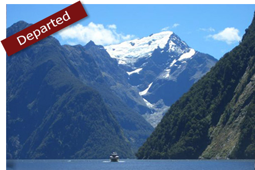 Cricket tours to New Zealand 2019 - photo of Milford Sound